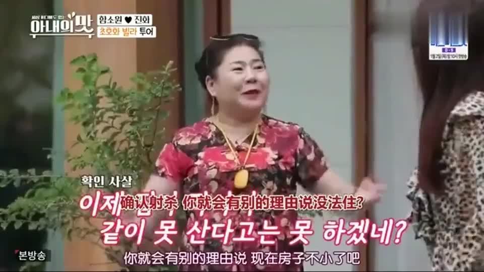 韩国明星看的别墅价格20亿韩元,中国婆婆大手一挥:买