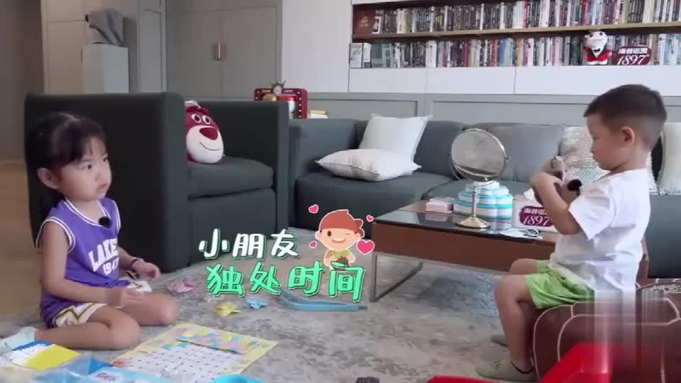 饺子自觉带福宝,简直不要太懂事,李诞朱丹惊呆了!