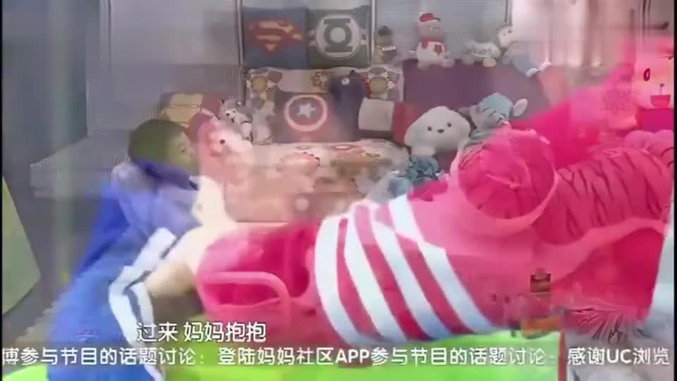 杨阳洋哭着喊:谁都不喜欢我,我成了野孩子,妈妈落泪开导儿子!