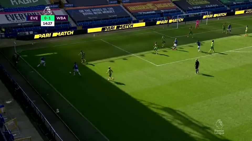 足球经典回顾:安德烈戈麦斯下底横传门前勒温转身抽射被封出底线