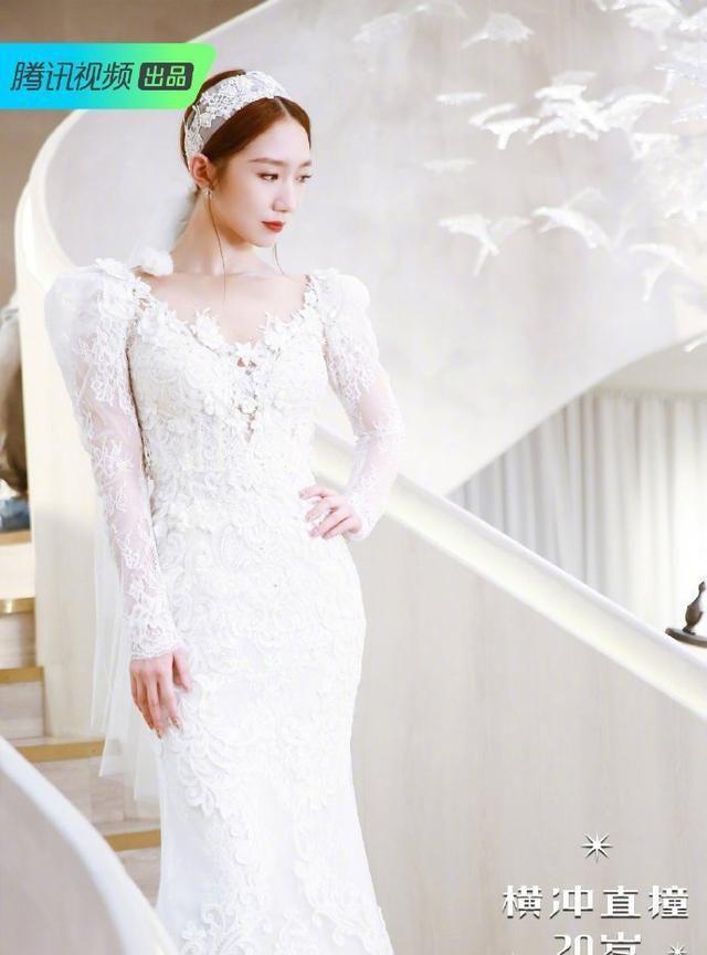 火箭少女婚纱大赏,身着不同风格的礼裙