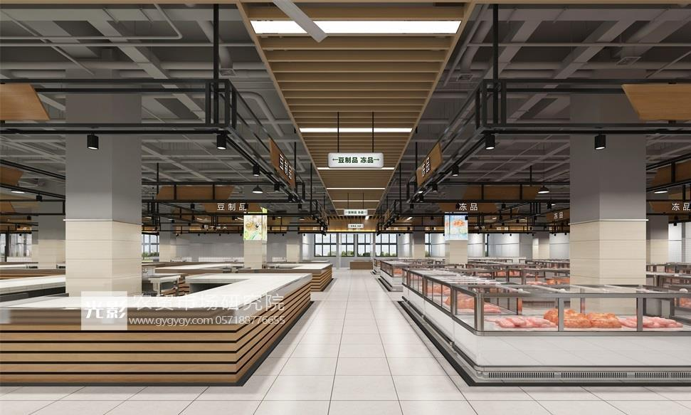 吴忠市农贸市场设计—吴忠市农贸市场装修设计—农贸市场设计图
