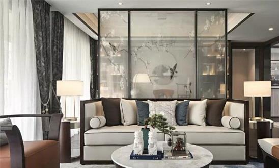 西安二手房翻新装修改造:新中式空间设计-不拘泥于传统空间色彩