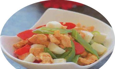 大厨家常菜谱:山药奥尔良鸡丁,香辣猪蹄,腌西兰花梗