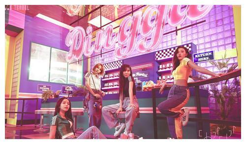 MAMAMOO先公开曲《Dingga》12个地区iTunes排行榜1位
