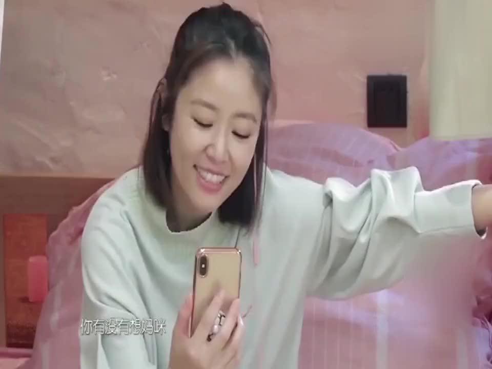 当女星和孩子视频,看完杨颖杨幂再看林心如,真情假意一看便知