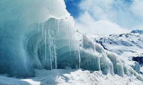 川藏线之八宿来古冰川