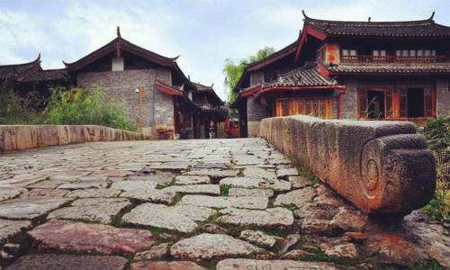 木氏土司鼎盛时期标志性建筑,束河八景之一,云南省丽江青龙桥