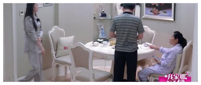 蒋梦婕一家三口饭桌聊天,大张伟:我爸从不会这么和我说话