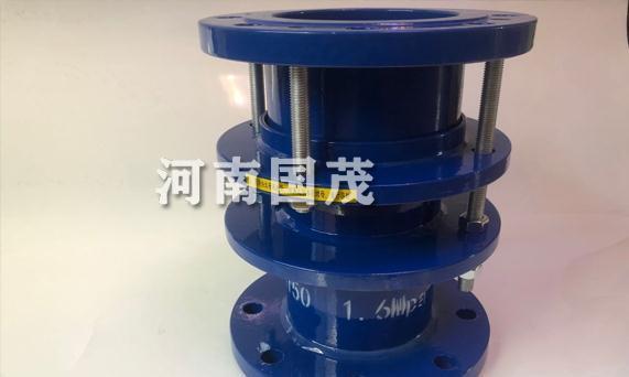 限位伸缩传力接头在管道中支墩的安装位置