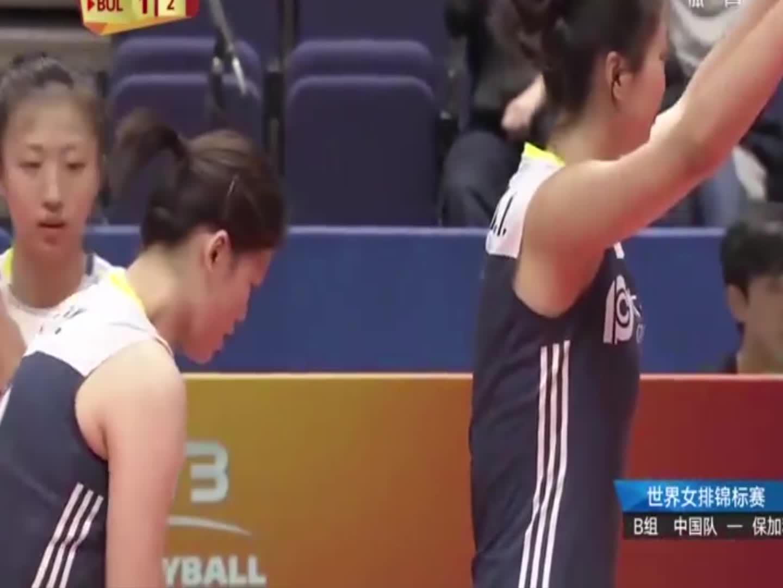 中国女排连续两个挑战成功直接得分,让裁判怀疑人生!