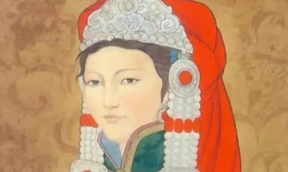 因蒙古族特殊习俗,她无奈嫁给下任可汗继承人,夫君还是个孩子