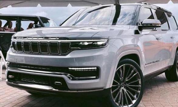 JEEP大瓦格尼海外实拍新车有望推出插混车型