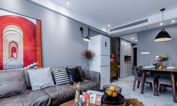 65平米的房子能装修成什么效果?欧式风格二居室装修案例