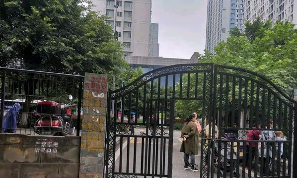 重庆市北碚区一个社区,跟这个门真的不一样,你怎么看?
