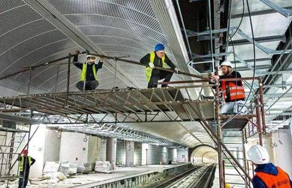 终于修好了, 雅典地铁三号线延长线首3站7月开通