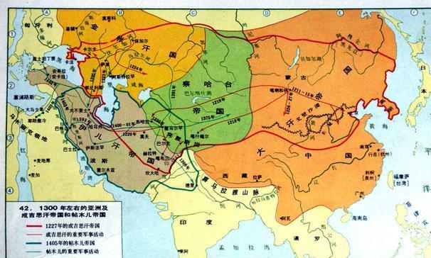 东方比西方更能打?为何蒙古能横扫莫斯科拿破仑和希特勒却不能?
