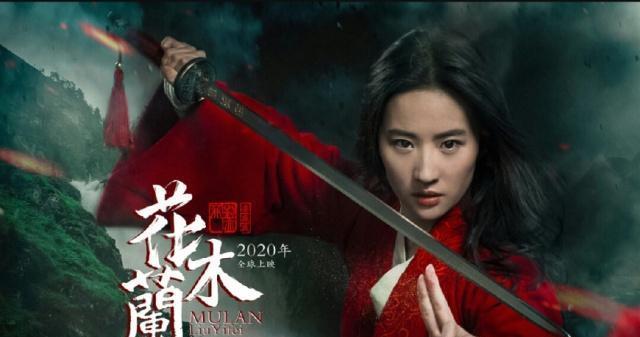 刘亦菲开拍《花木兰》,甄子丹李连杰巩俐加入,铁骨铮铮一袭红衣