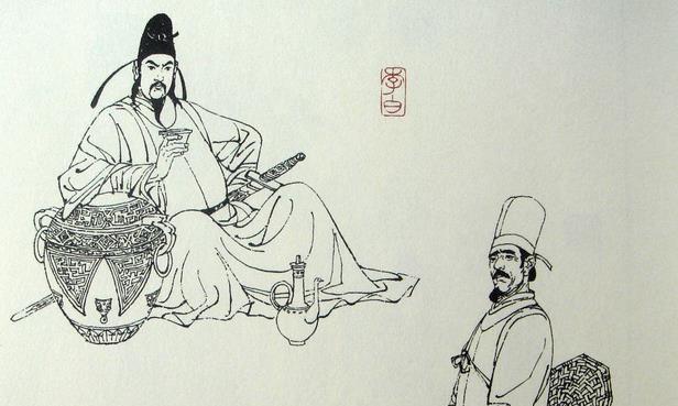 李白还没死,杜甫就给他写悼亡诗,诞生了形容李白最好的千古名句