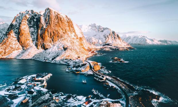 鸟瞰地球:摄影师拍摄山脉森林海洋,让我们看到不一样的壮丽美景