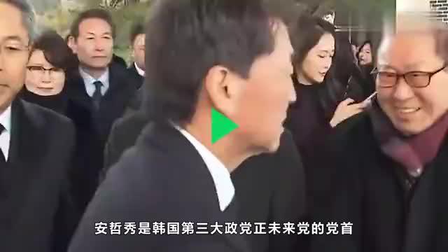 """文在寅劲敌参拜前总统,却生生""""打脸""""朴槿惠,到底咋想的"""
