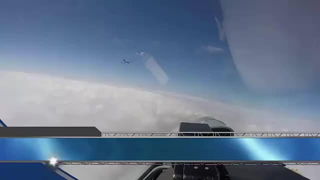 苏-27闯入丹麦领空,丹麦战机都没起飞,为何说是他们心虚