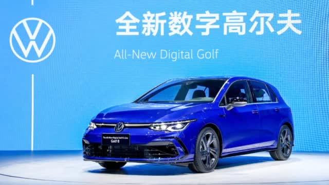 视频:直击北京车展|全新高尔夫8开启预售,15万元起,十月上市