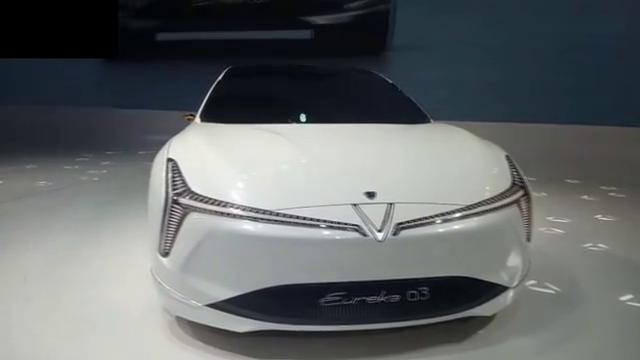 哪吒Eureka03概念车北京车展实拍