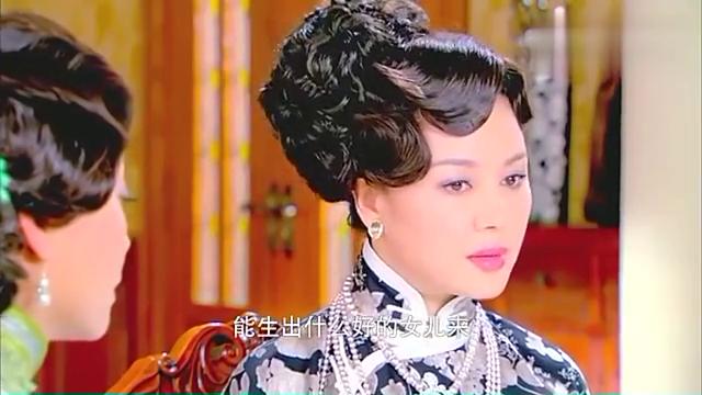 烽火佳人:佟夫人直言贵族不能与平民通婚,却把杜夫人气坏了
