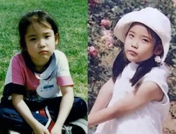 韩国女星童年照,郑秀晶清秀,宋慧乔软萌,全智贤乖乖女