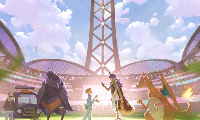 「宝可梦:剑/盾」短篇动画「破晓之翼」新视觉图公开