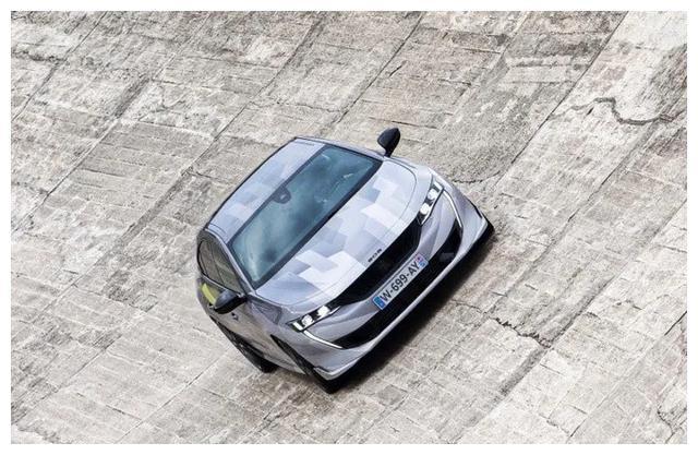标致508新车型实拍! 年内开售