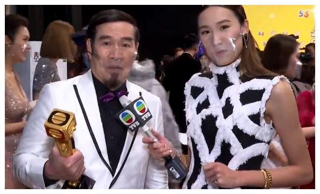 26岁TVB女主持被批不尊重老戏骨白彪,曾因采访张卫健大哭走红