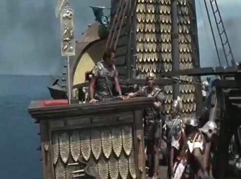 古代海战大片,罗马vs埃及,全程激战!