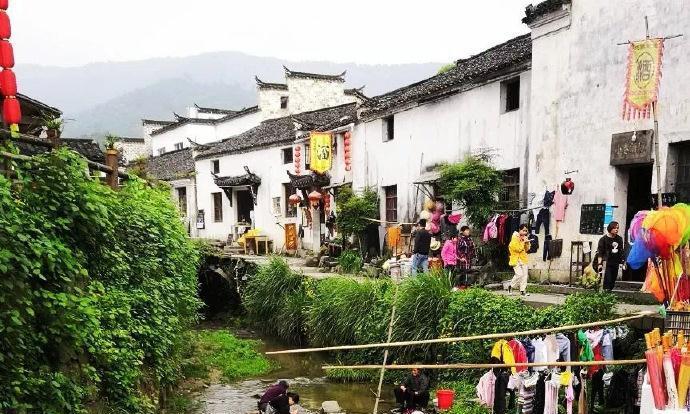 安徽查济古村|唯美的徽派建筑,舒服惬意