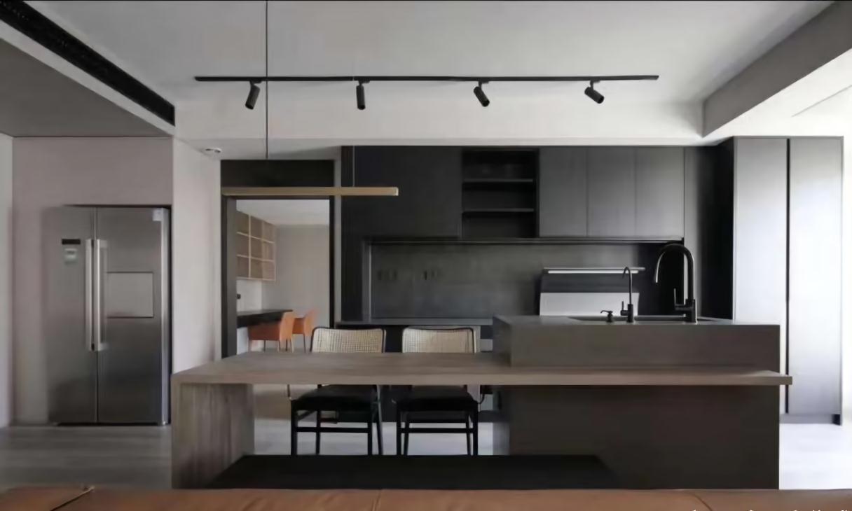 简约风厨房,和集成灶一拍即合的装修风格到底如何打造!