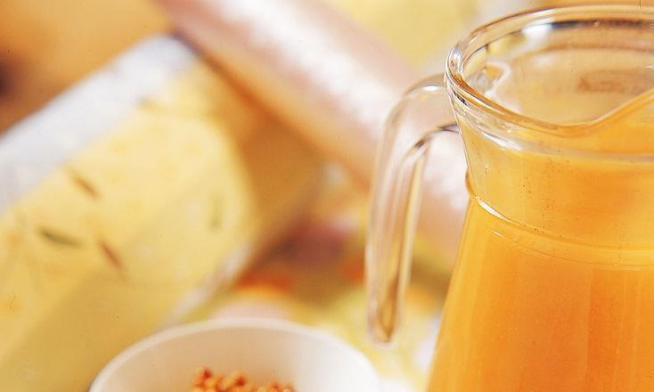 夏日最爱的饮料:沙棘汁和轻果茶