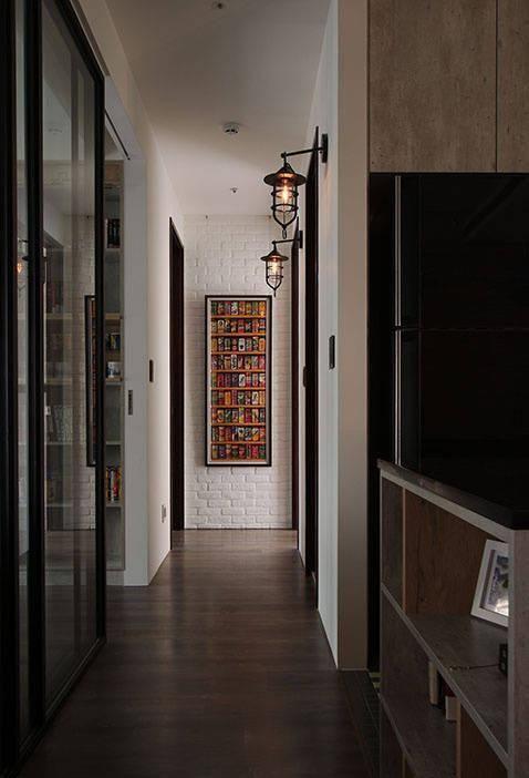 现代简约三居室,套内面积:86㎡,质感蔓延、自然写意
