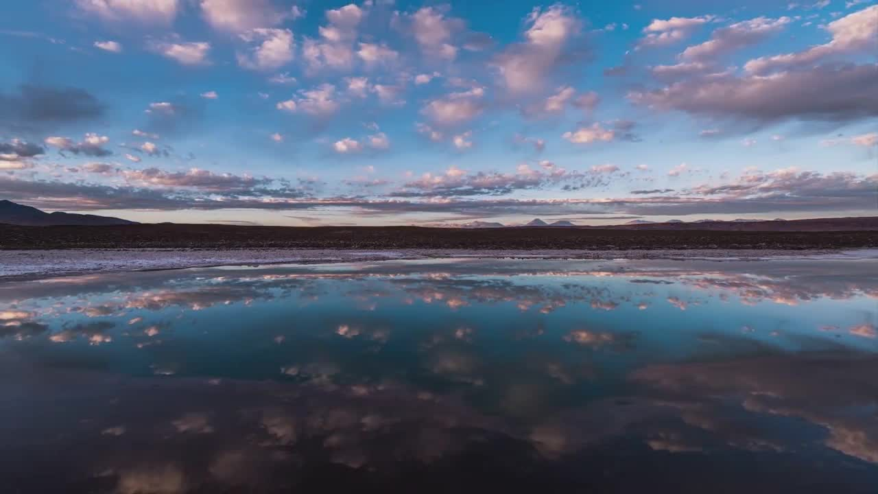 4k高清延时拍摄阿塔卡马沙漠,恍如人间隐世奇景