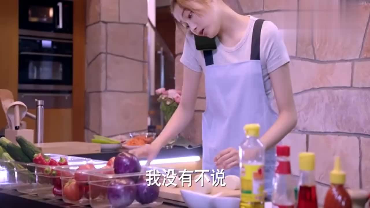 格斗女王第一次下厨,谁料她竟把白馒头烤成黑馒头,场面太逗了