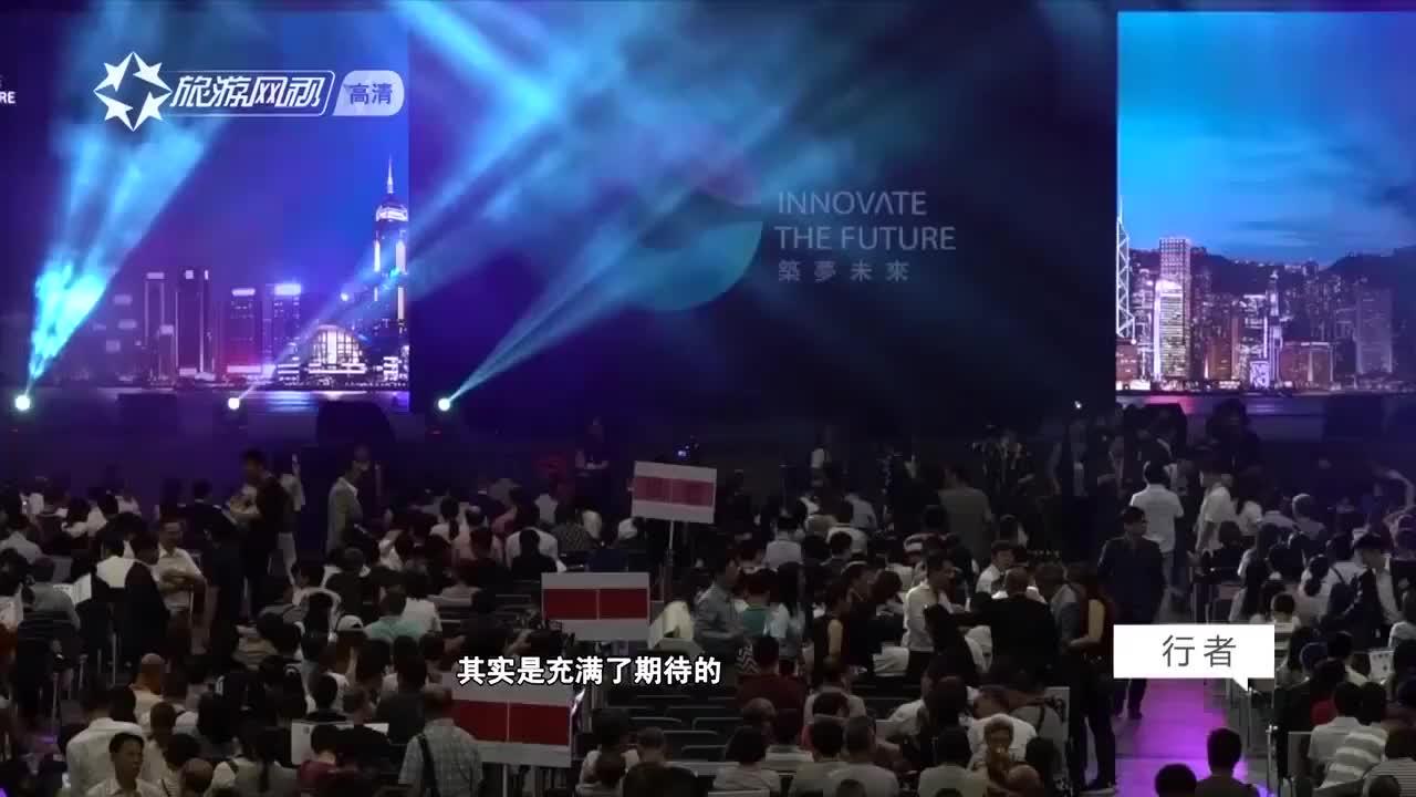 """""""一国两制""""背靠祖国,香港青年直言:香港的未来非常广阔!"""