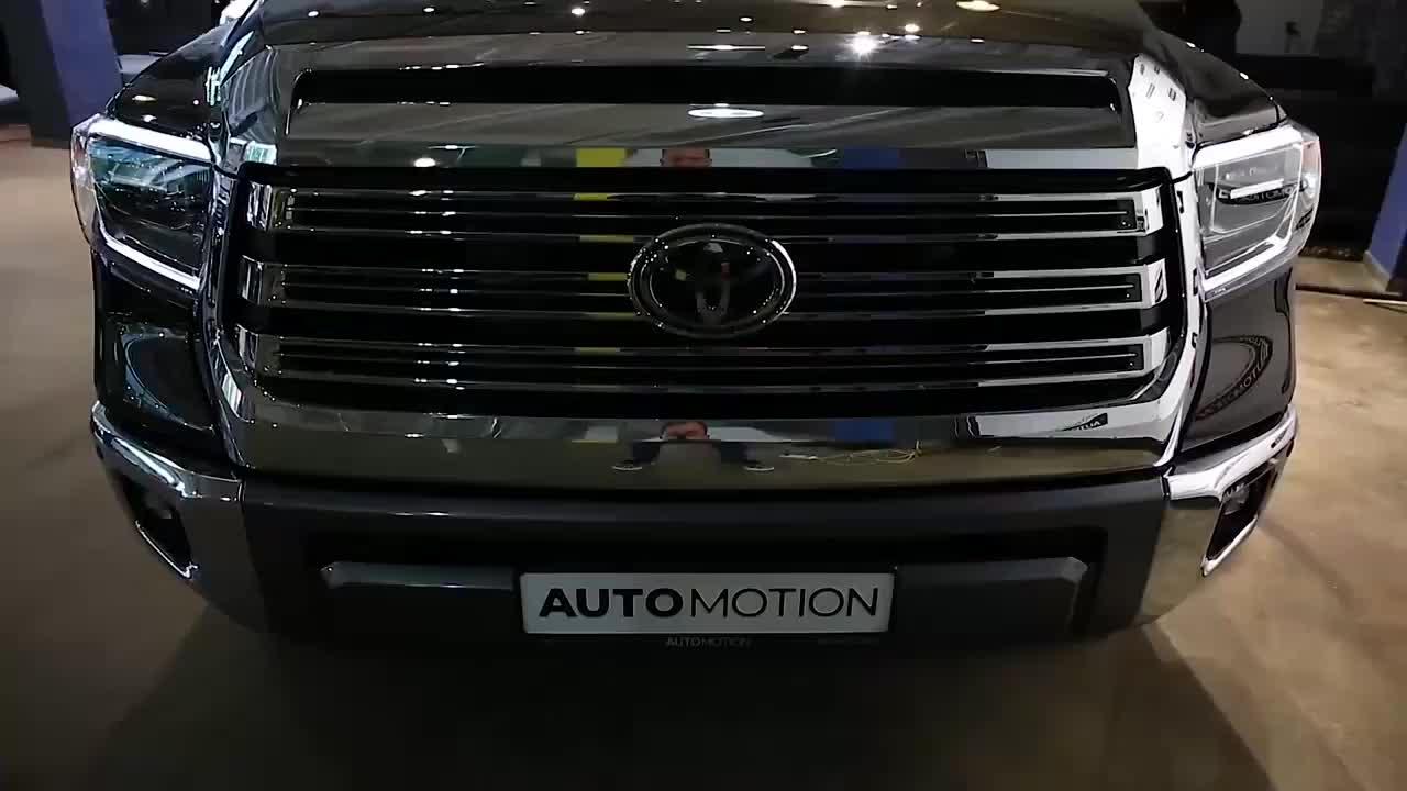 新车展示,实拍2020款丰田坦途,外观太帅气,还要啥福特猛禽
