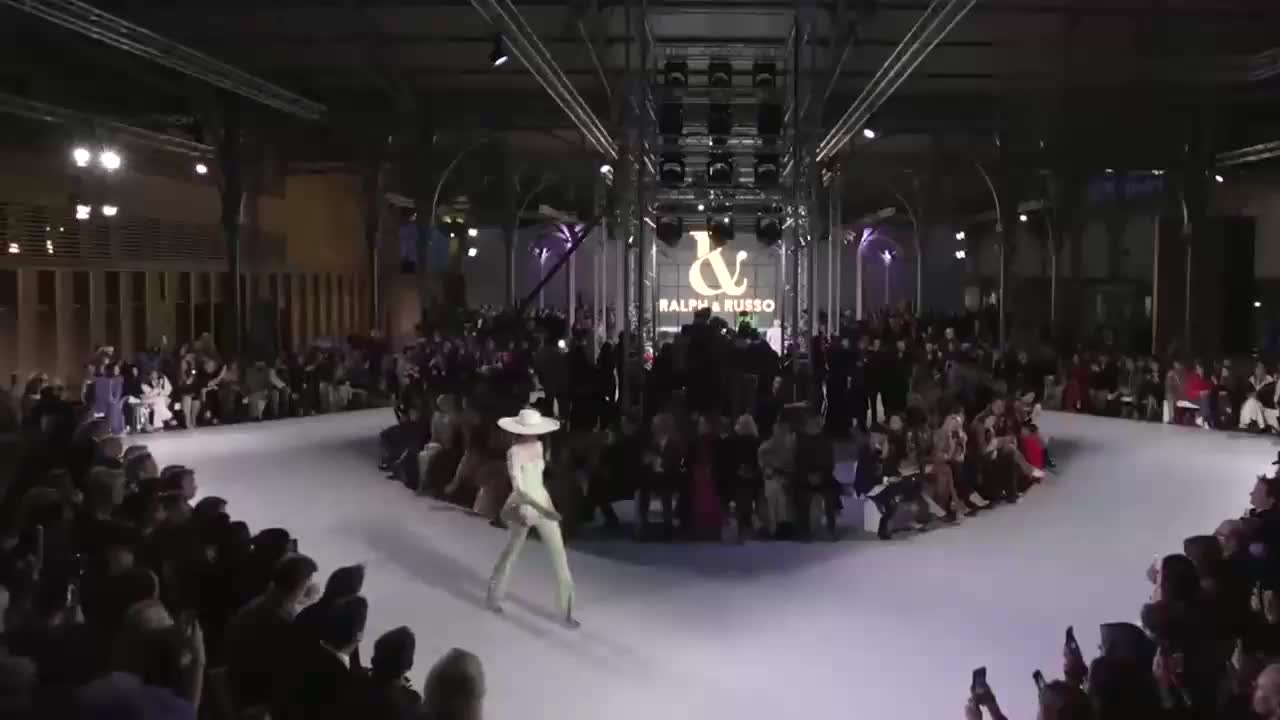Ralph & Russo2020春夏装,巴黎高级时装定制发布会
