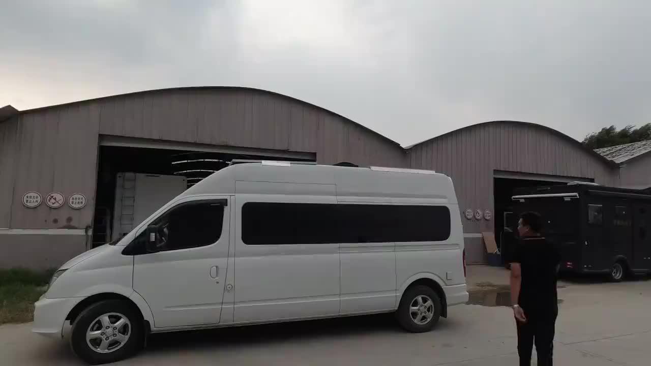 车友安装的房车太阳能板太简单实用了!大家看看这样安装行吗?