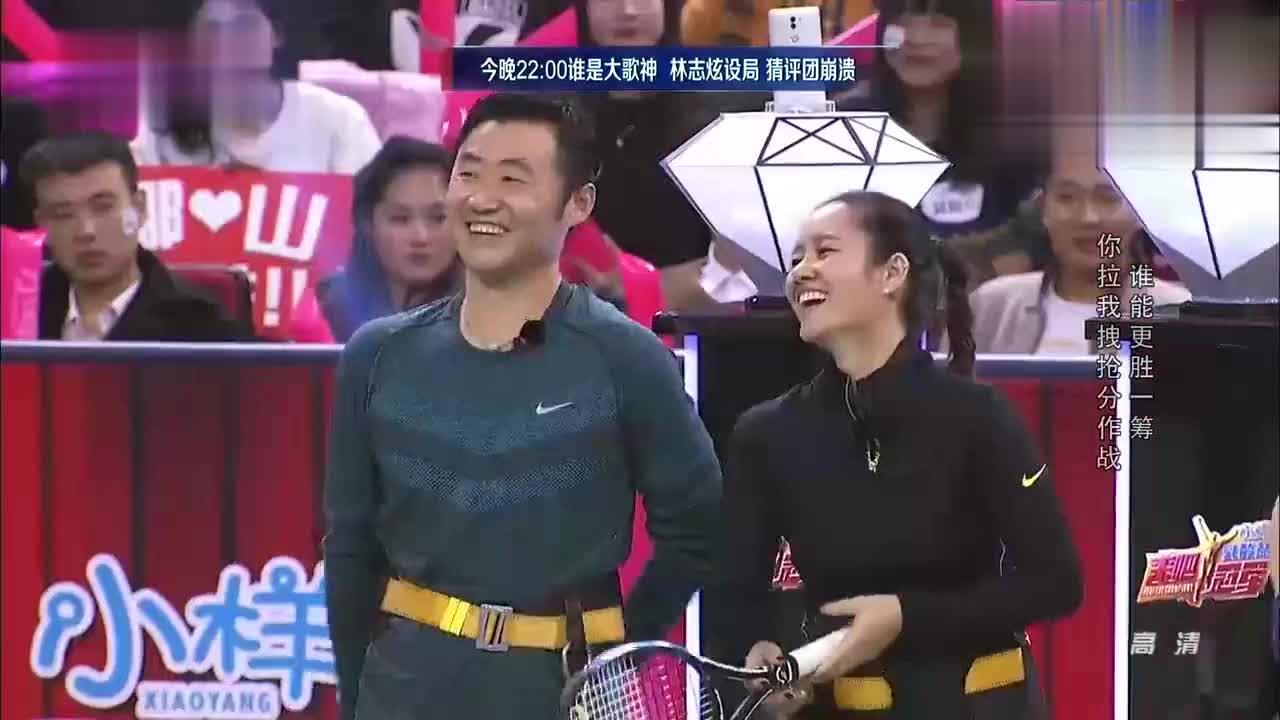 《来吧!冠军》袁咏仪想与孙杨一组,张智霖秒变脸!