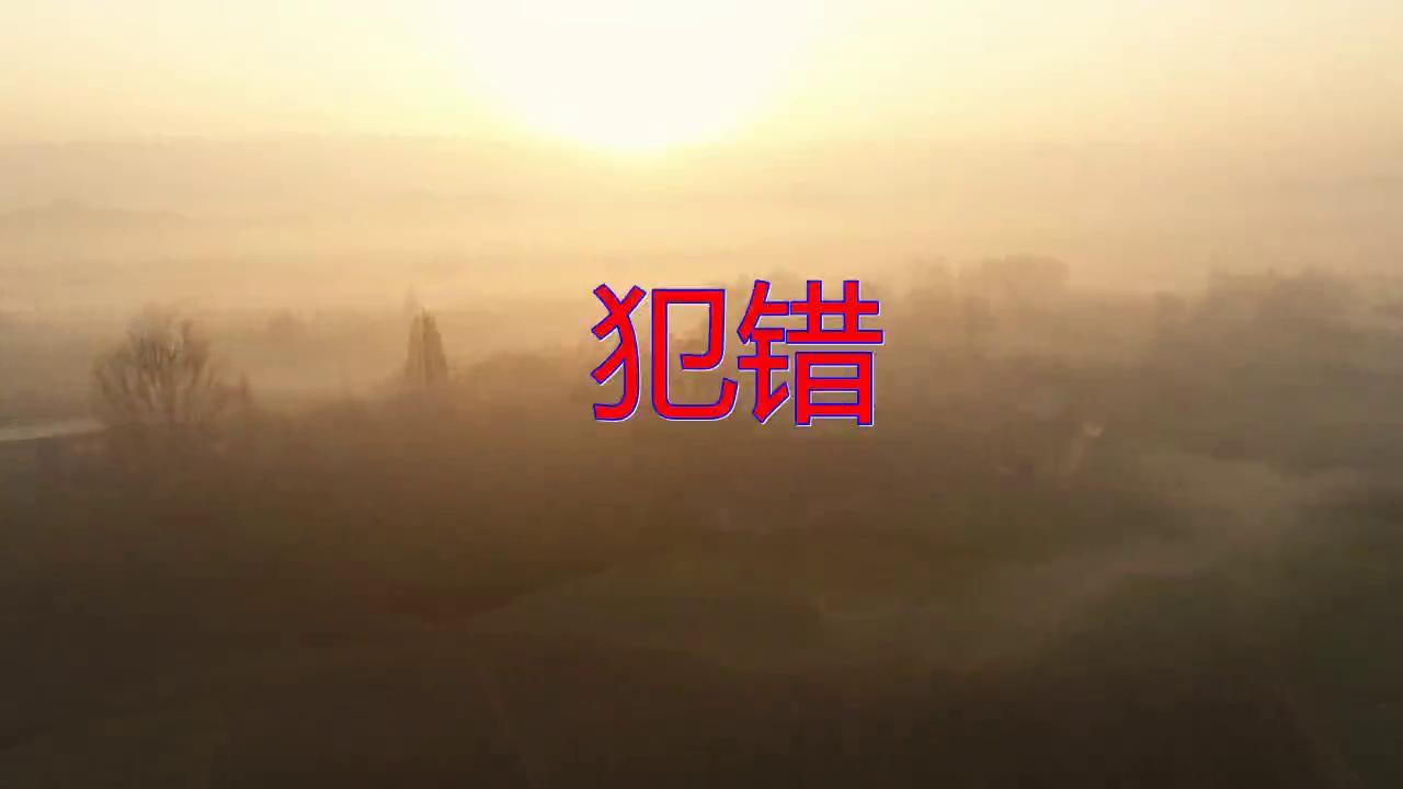 DJ何鹏、斯琴高丽、顾峰《犯错》,凤箫鸾管,唱的很投入
