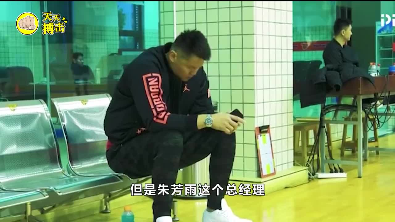 朱芳雨签下男篮名宿儿子!15岁身高2米21,不愁没有易建联接班人