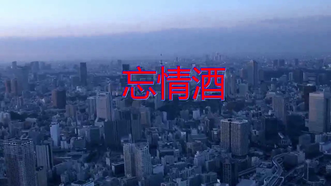DJ何鹏、张启辉的一首《忘情酒》,如梦如幻,唱出了意境!
