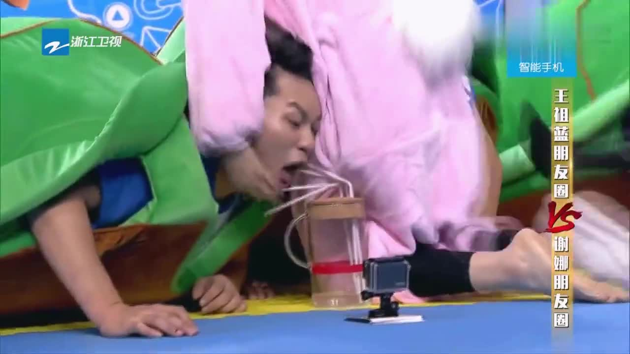 """""""黑牛""""克星亚男正式上线,两次干掉李晨,祖蓝:爱情的力量"""