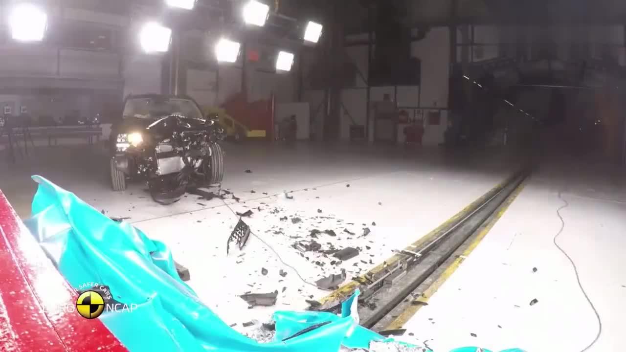 视频:斯柯达柯珞克欧洲ncap碰撞测试